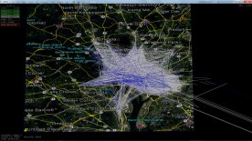 Geospatiotemporal data with links, January 1-7, 2012, Capital Bikeshare